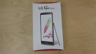 LG G4 Stylus - Unboxing (4K)