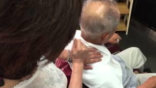 Traditional Japanese Barbershop Massage