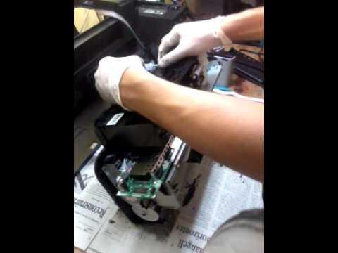 Mantenimiento Tx130 Limpiar Deposito De Tinta Usada Y