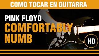 como tocar comfortably numb de pink floyd en guitarra clase tutorial