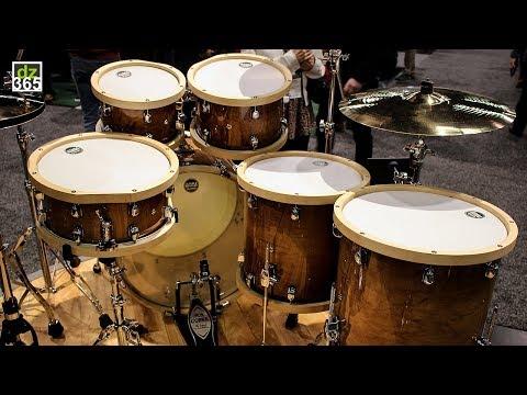 Video demo Tama S.L.P. Studio Maple Drum Kit