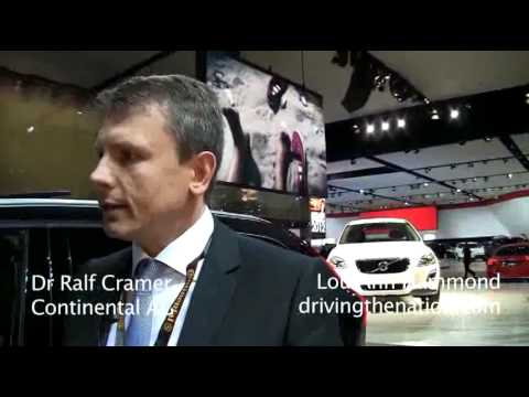 Dr. Ralf Cramer, Continental AG chassis and safety on Driving the Nation