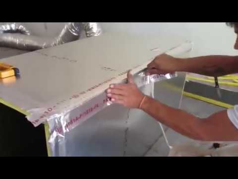 AIR Duct Work Assembly and Installation for AC