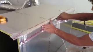 Luchtleiding Werk Montage en Installatie voor AC