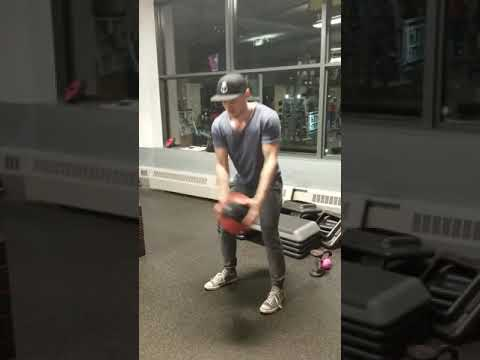 Medicine Ball Wood Chops - Low to High