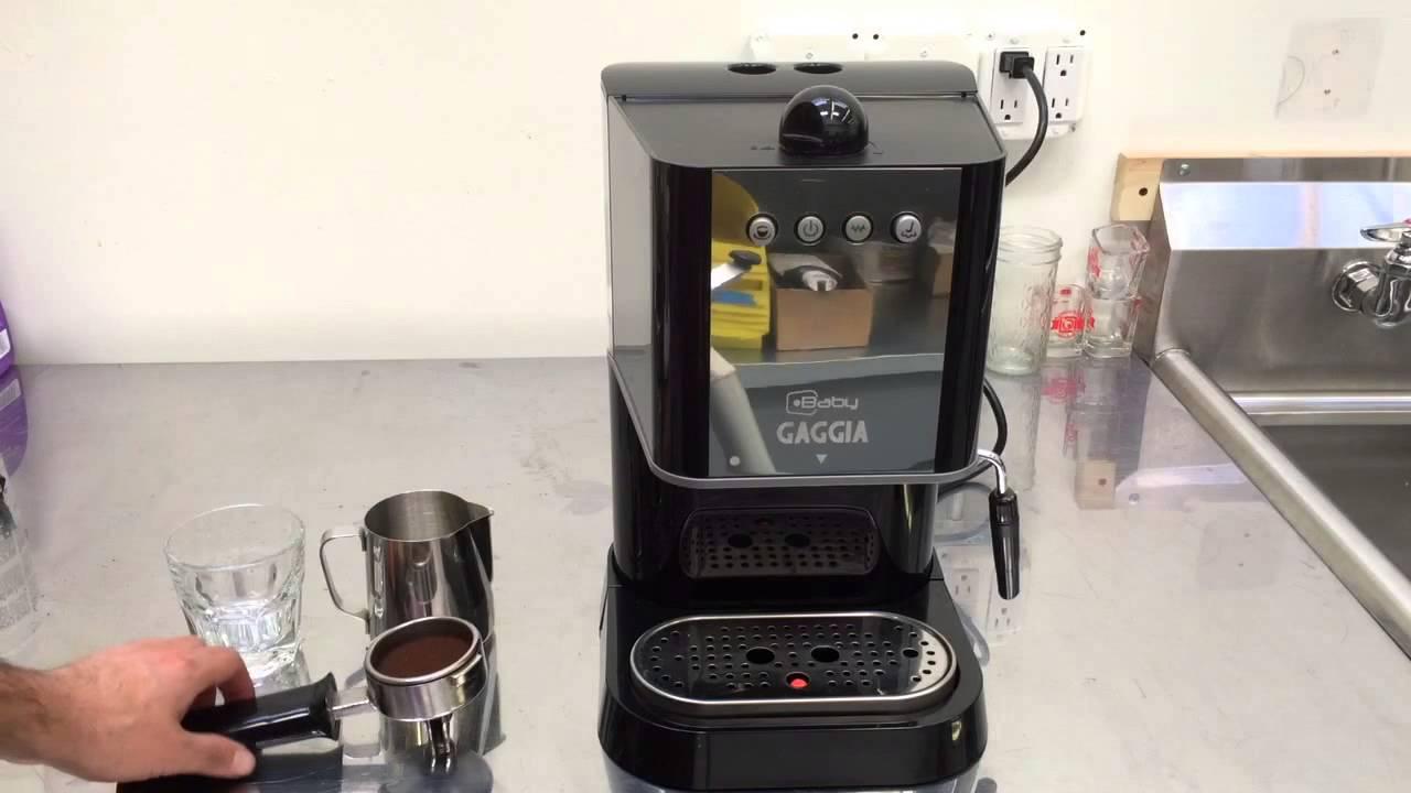 Electronic Baby Gaggia Coffee Machine baby gaggia new fuse youtube fuse
