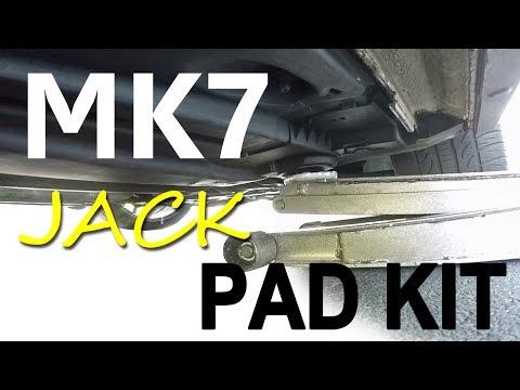 OEM Jack Pad Kit DIY for VW MK7 Models