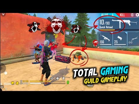 TG DEADSOUL, TGAD, TG ANAND Guild Play Best Gameplay - Garena Free Fire