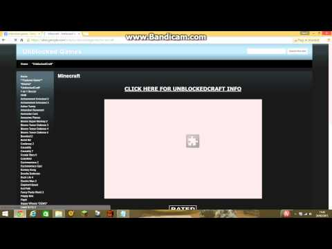 How to get on minecraft unblocked game's