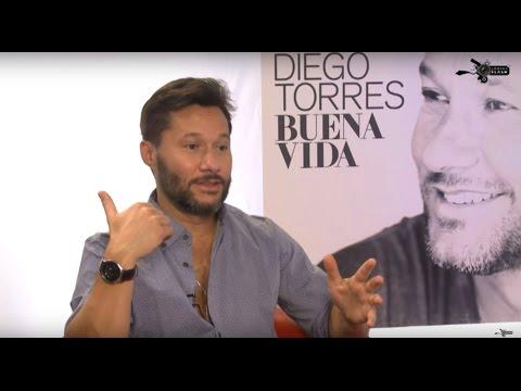 """Cámara Flash entrevista a Diego Torres durante el lanzamiento de """"Buena Vida"""""""
