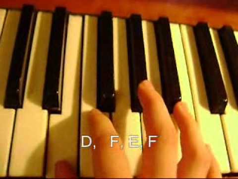 Once Upon A Dream Piano Tutorial Youtube