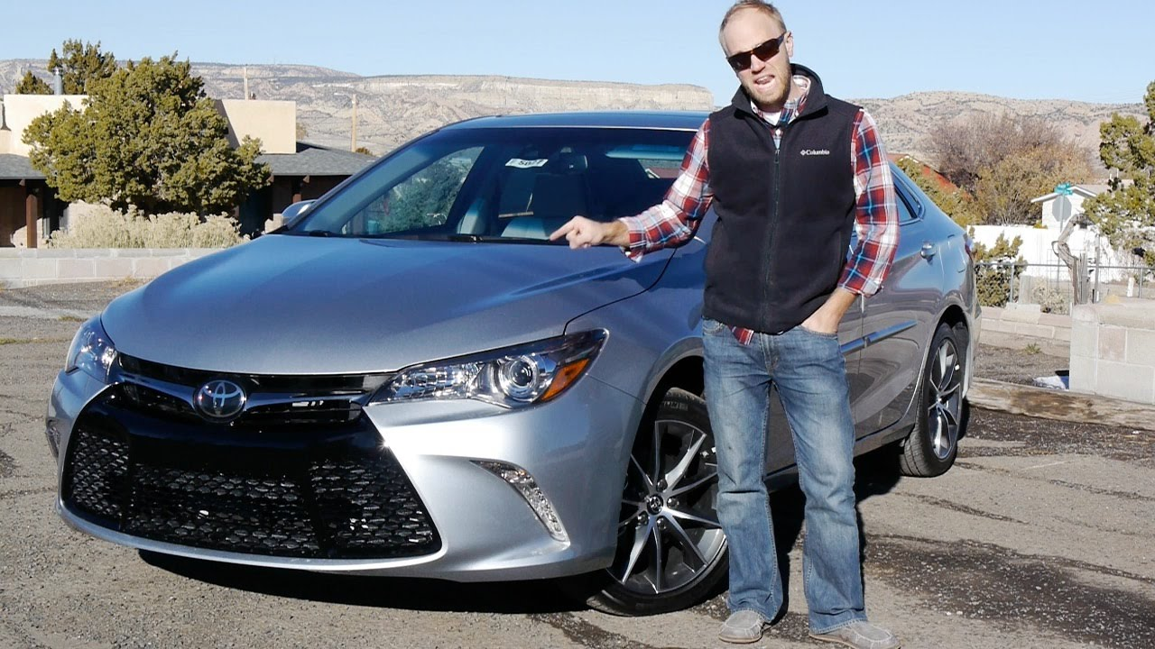 2015 Toyota Camry Xse Not Your Mothers Camry Real Review And Test