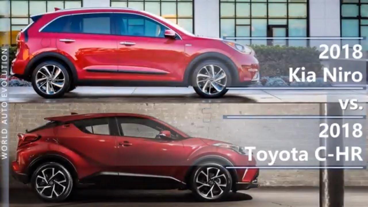 2018 Kia Niro Vs Toyota C Hr Technical Comparison