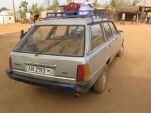 Peugeot 505 Sept Place in Benin and Togo West Africa
