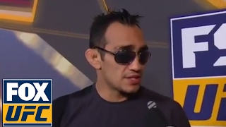 Tony Ferguson speaks after Khabib Nurmagomedov fight gets canceled | UFC ON FOX
