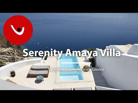 Serenity Amaya Villa  to Rent in Santorini Greece | Unique Villas | uniquevillas.gr