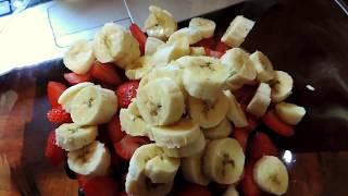 простой десерт - фруктовый салат