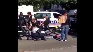 Noisiel : Un homme se blesse lors d'un rodéo autour d'une voiture de police