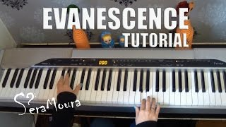 Evanescence - Bring Me To Life (tutorial/piano)