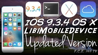 iOS 9.3.4 - New Updated LibiMobileDevice iDeviceRestore Compiled - OS X