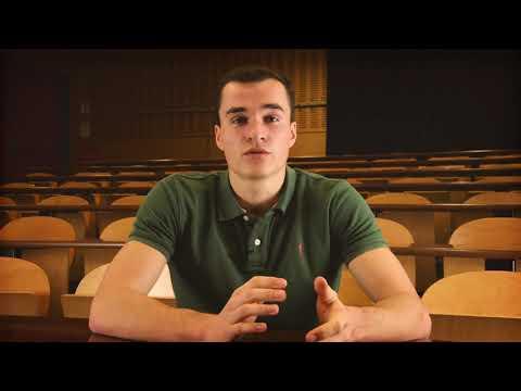 ZOOM sur un étudiant SPORTIF : Gaël Parpan