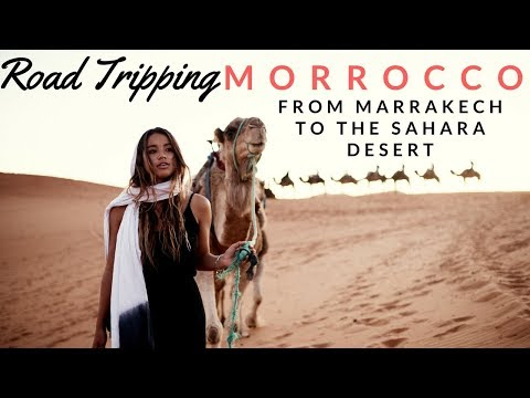 Road Tripping to the Sahara Desert in Morocco
