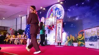 Hội bài chòi tại Hội nghị khách hàng Công ty bánh kẹo BIBICA ca sĩ Huyền Tân
