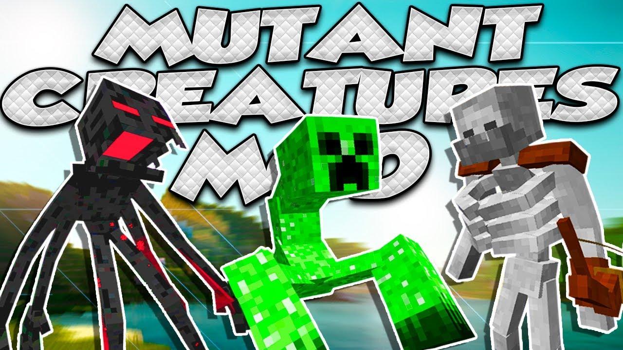 mutant creatures mod 1.12.2 curse