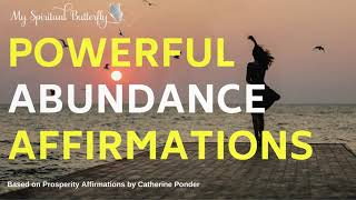 Abundance Affirmations | Affirmations for Wealth | In Sleep | Money Affirmations | Catherine Ponder