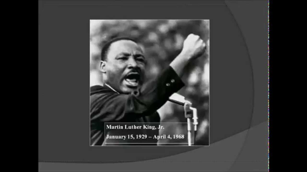 Inspirational Quotes Martin Luther King Jr Youtube