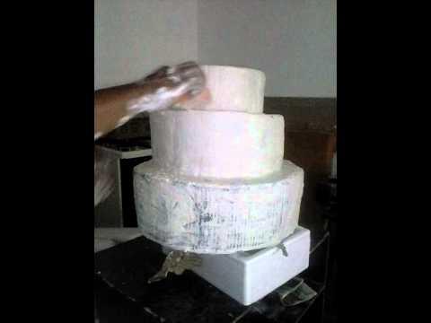 Torta de papel reciclado youtube - Manualidades de papel reciclado ...