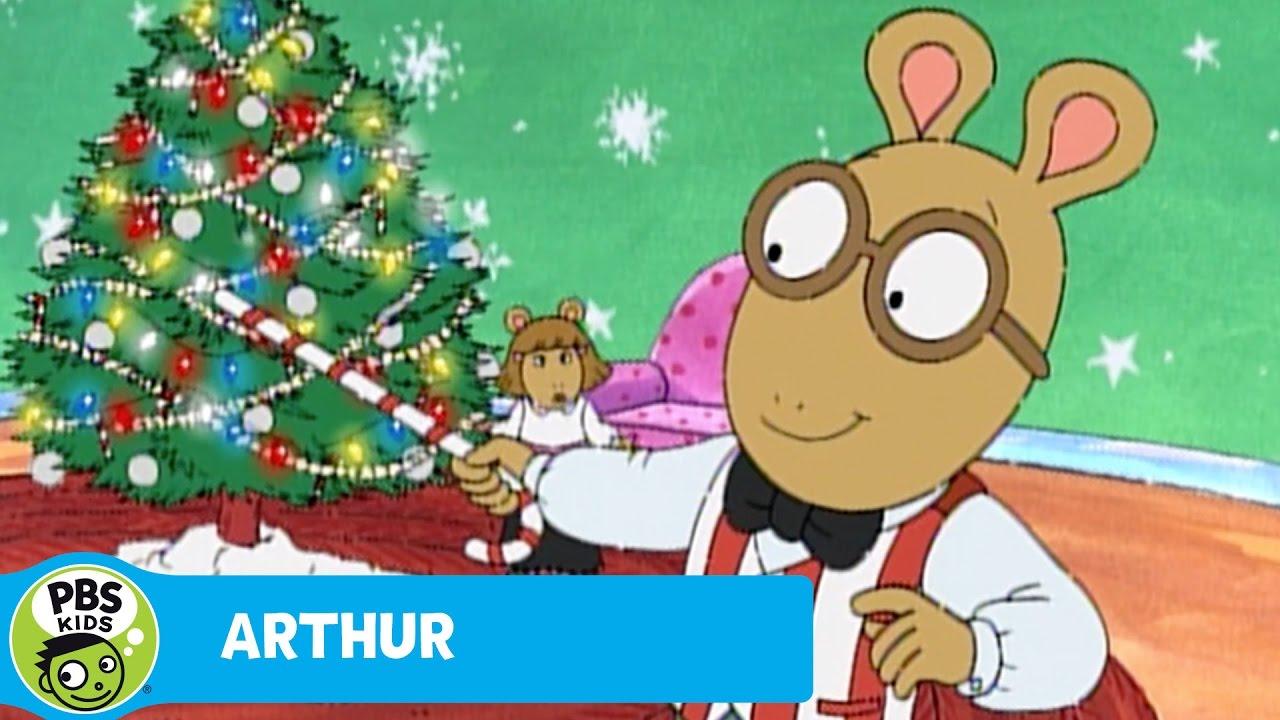ARTHUR   Arthur Sings About Christmas   PBS KIDS - YouTube