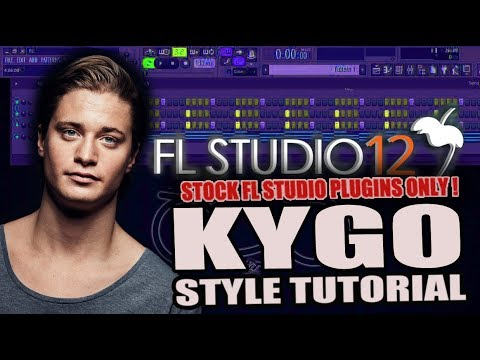How To Make Music Like Kygo Using Only Stock Plugins [FL Studio] + FREE FLP !