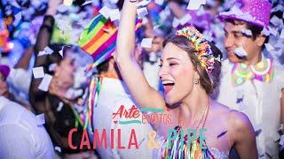 Arte Eventos - Matrimonio Camila y Felipe - Bodas espectaculares