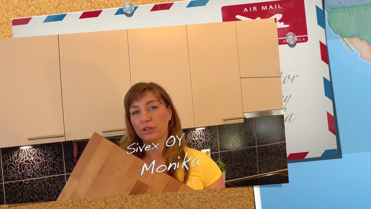 Puisen leikkuulaudan puhdistus ja hoito  YouTube