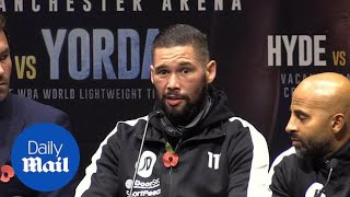 Tony Bellew confident of passing 'ultimate test' in Usyk