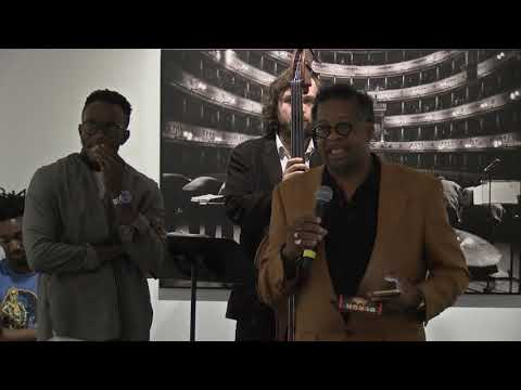 Cooper Gallery Concert & Conversation with Gregory Groover Jr. (9-27-2019) on YouTube