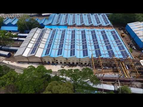 Dexler Energy - Solar PV Roof-Top (Railway Mysore Workshop 500 Kw)