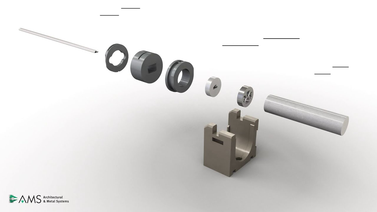 Aluminium Extrusion Process Animation - AMS