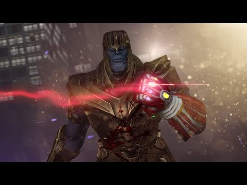 If Endgame Had A Dark Ending | Avengers Endgame - Animated Battle