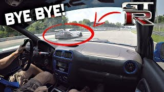 We Took the 800HP Subaru To The Track!! - 2003 Impreza STi 2.1L Stroker OnBoard @ Monza Circuit!