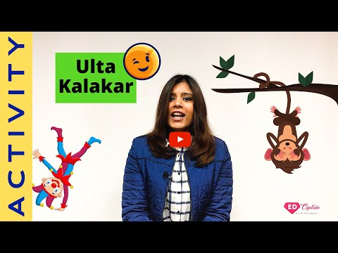 Ulta Kalakar [Hindi] उल्टा कलाकार [हिंदी] | Creativity Activity | Logical Activity | Positivity
