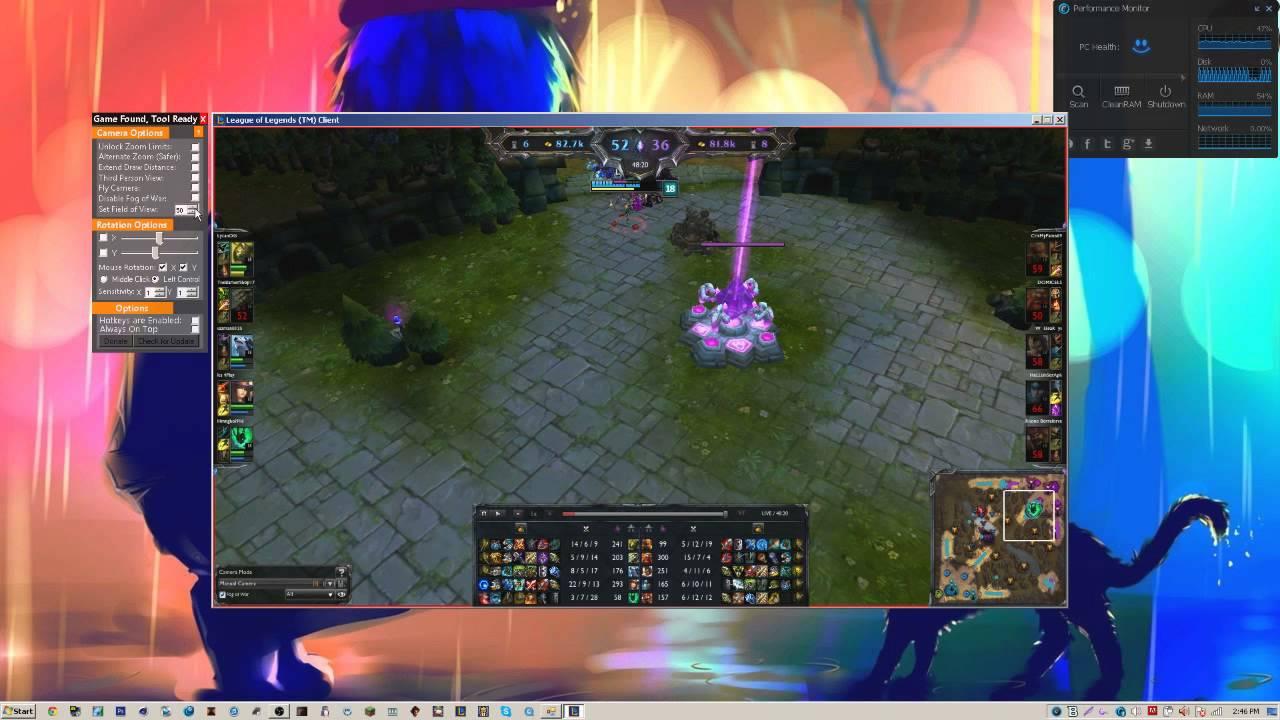 how to fix camera league of legends