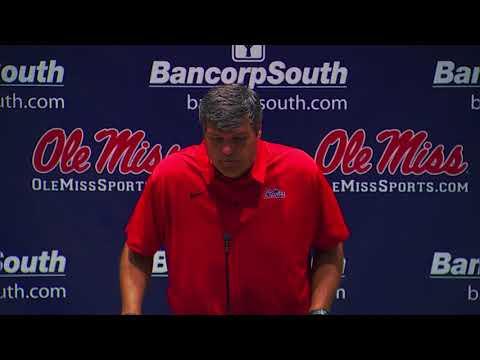 Ole Miss Football - Matt Luke Press Conference (9-18-17)