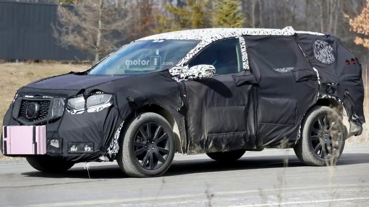 2019 Acura Rdx Facelift Spy Shots Youtube