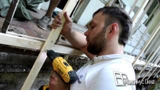 Максимус окна - технология внешней отделки балкона 6 метров пластиковым сайдингом(, 2014-08-03T10:14:33.000Z)