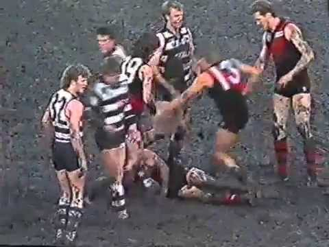 The MCG Mud Bath: Essendon v Geelong, 1989 Queen's Birthday