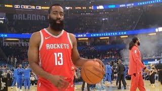 JAMES HARDEN GAVE ME THE GAME BALL