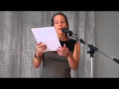 Rebecca Wolff SLS '14 Vilnius Reading w. Lithuanian Translations by Erika Lastovskyte