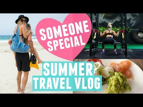 finding-someone-special-|-summer-travel-vlog-+-fat-burning-tabata-workout